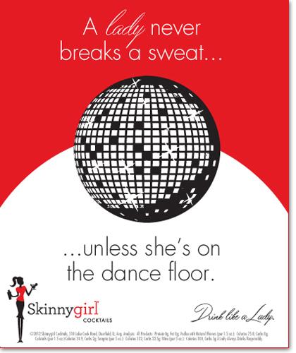 A lady never breaks a sweat…