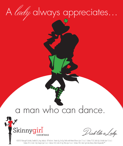A lady always appreciates...