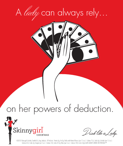 A lady can always rely...