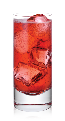 Pretty Pomegranate Fizz