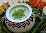 Green Goddess Dip with Vegetable Crudites