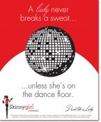 A lady never breaks a sweat…